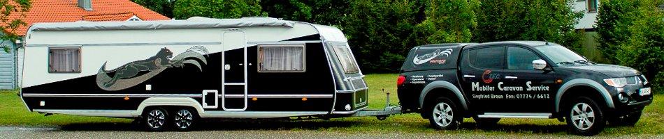 Mobiler Caravan Service